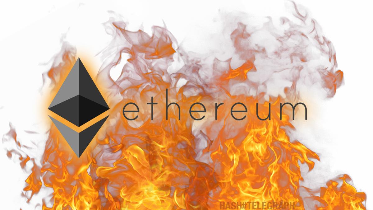 После обновления London каждый час сгорает 138 токенов Ethereum на сумму $384 тыс.
