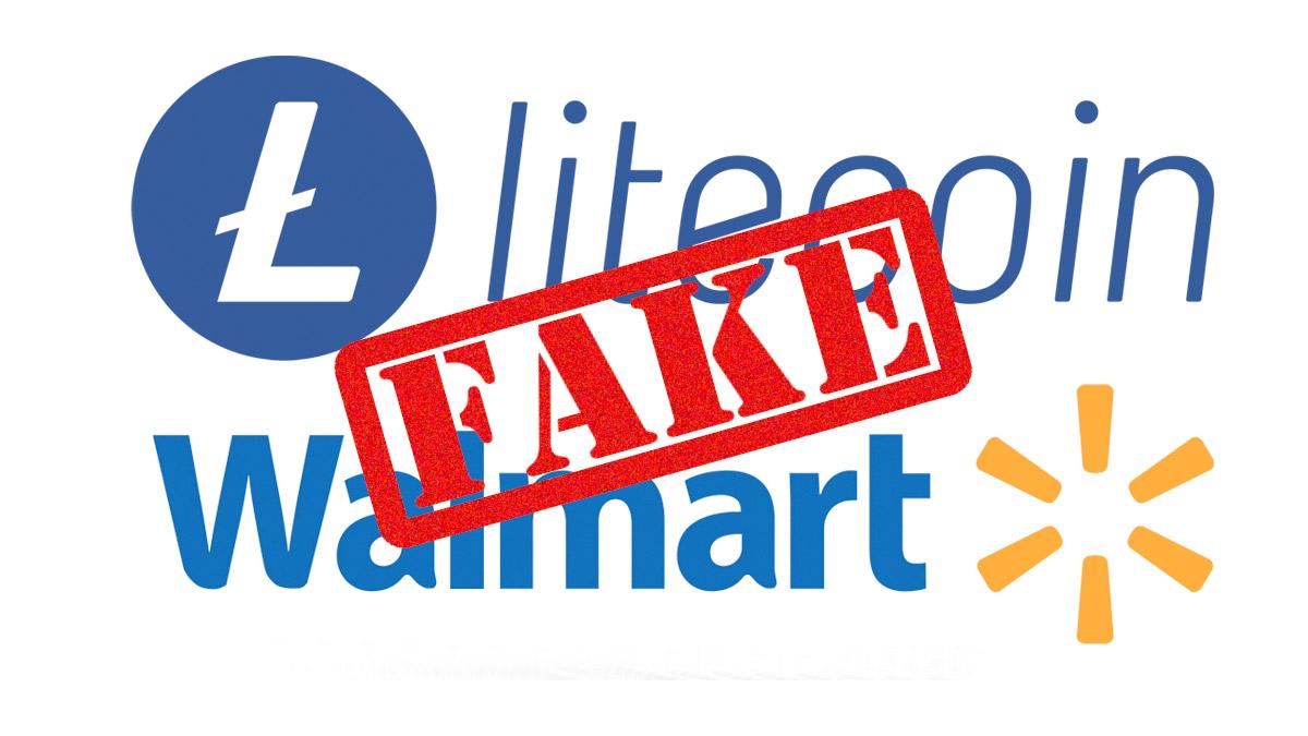 Криптовалютный рынок встряхнула фейковая новость о партнерстве Litecoin с Wallmart