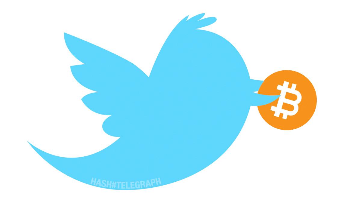 Twitter рарзрешает пользователям отправлять донаты в биткоинах